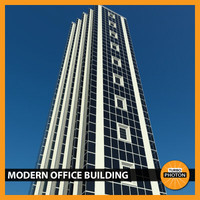 modern office building 05 3d 3ds