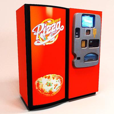 pizza vending machine 3d model. Black Bedroom Furniture Sets. Home Design Ideas