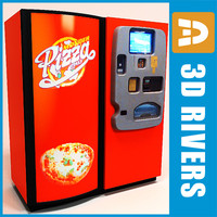 Pizza vending machine by 3DRivers