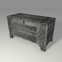medieval chest 3d model