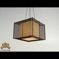 max kai square pendant lamp