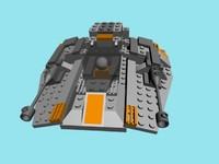 lego snowspeeder max