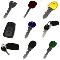 car keys 3d 3ds
