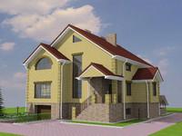 max suburban villa building
