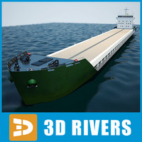 Container ship 01 by 3DRivers