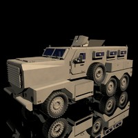 3d model of cougar 6x6