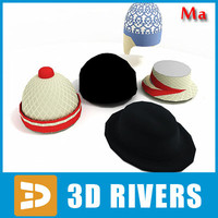 3ds max caps set v1 jacket