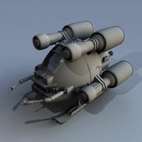 3d nano pod model