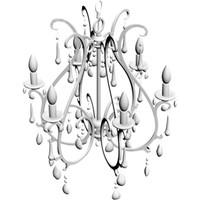chandelier lamp 3d obj