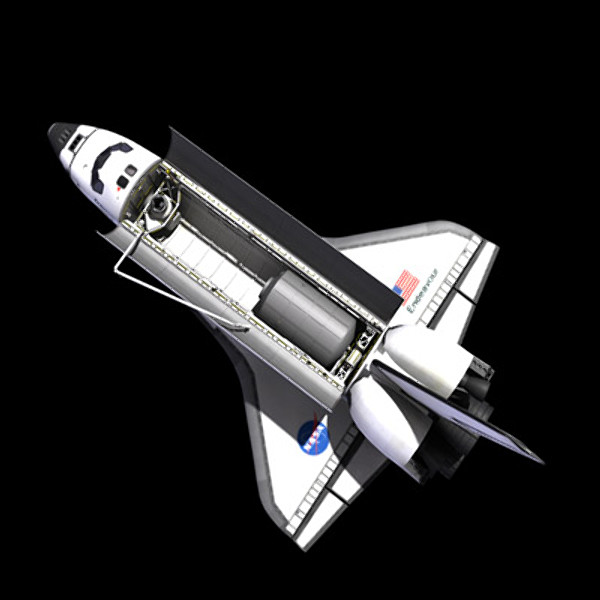 space shuttle 3d model - Space Shuttle... by PerspectX