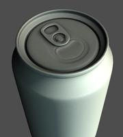 realistic soda 3d obj
