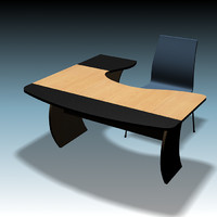 Desk & Chair_01