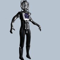 Cyberman Doctor Who Enemy Robot