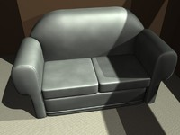 3d model couches