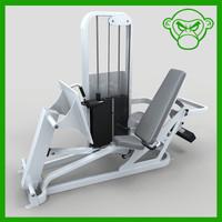 3d model leg press