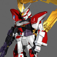 mmf-jg73l turn delta gundam 3d model