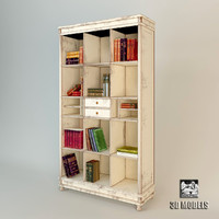 3ds max bookcase