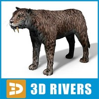 Smilodon by 3DRivers
