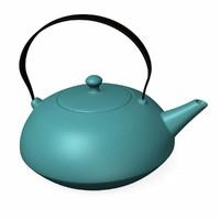 teapot pot 3d model