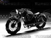 3d medium bike fusion model