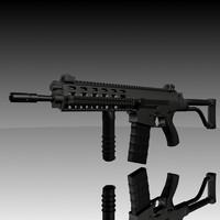 xrc rifle 3d model