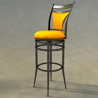 bar stool obj