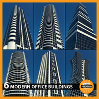 modern office buildings vol 2 3d max