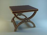 baker alexandre stool 3ds