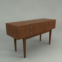 Grove Four-Drawer Console