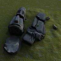 3d fallen idols
