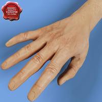 maya realistic hand