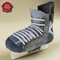 hockey skates 3d model