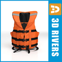 Life jacket 02 by 3DRivers