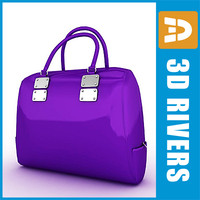 Purple tote bag by 3DRivers