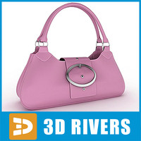 Pink ladies handbag by 3DRivers