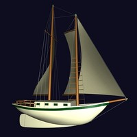 sloop 3d 3ds