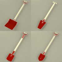 3ds tool shovel