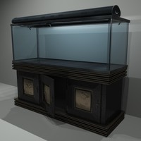 aquarium stand misting 3d max