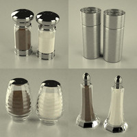 3d salt pepper