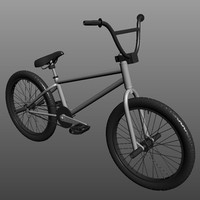 bmx bike obj