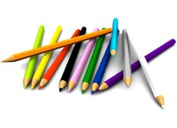 colore pencil 3d max