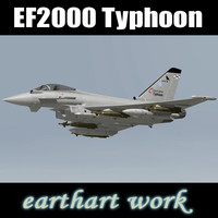 eurofighter typhoon spanish 3d model