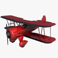 Waco YMF5 Biplane