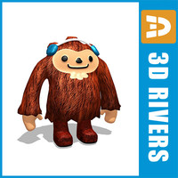 Quatchi mascot by 3DRivers