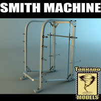 smith machine 3d max