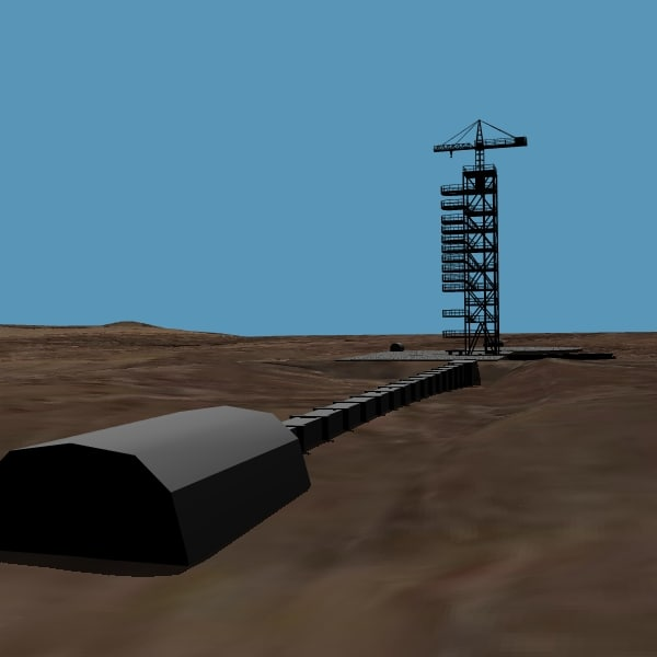 3d north launch model - DPRK Musudan-ri Launch Facility... by VisualMotion