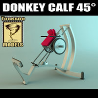 3ds max donkey calf
