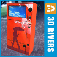 Umbrella vending machine by 3DRivers