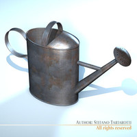 3ds max watercan