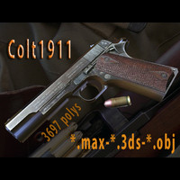LOW POLY COLT 1911